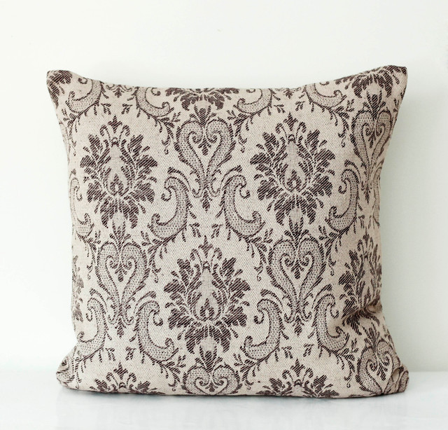 Tapestry linen pillowcover traditional pillows