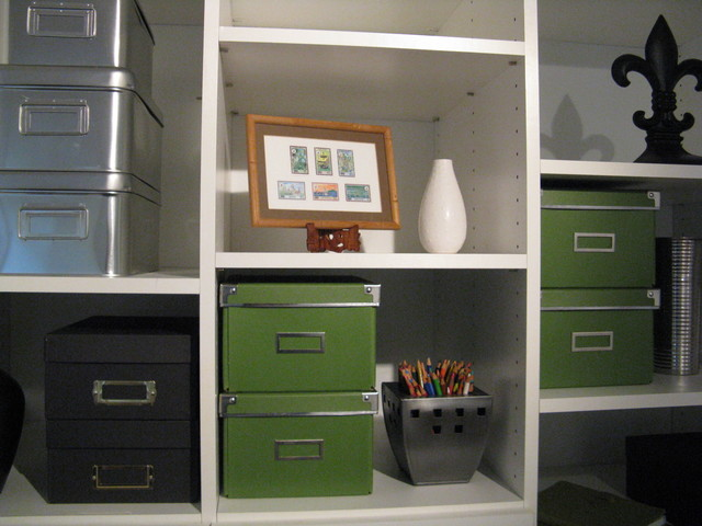 Modern Traditional Organized Office III eclectic