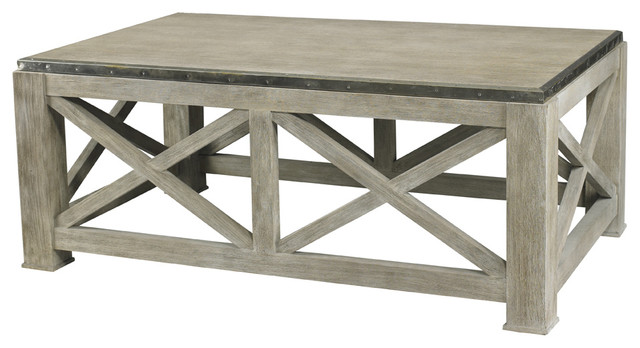 Lillian August Burleigh Slim Cocktail Table La99314 01 Rustic Coffee Tables By Benjamin