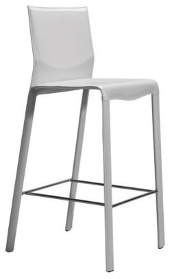 Nuevo 29.5 in. Ava Leather Bar Stool modern-bar-stools-and-counter-stools