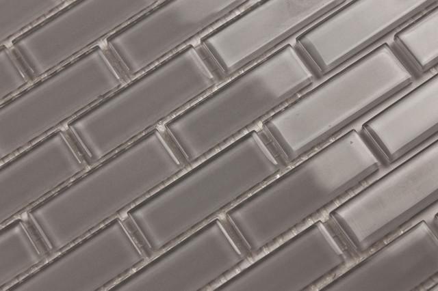 cliffside solid color subway mosaic glass tile for kitchen backsplash