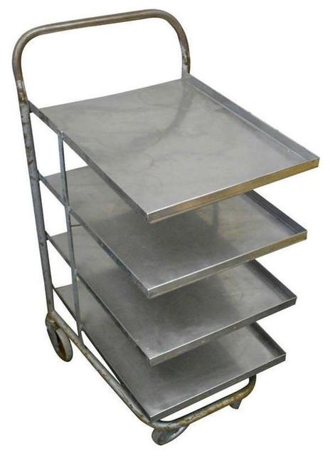 Vintage Metal Rolling Cart - $1,950 Est. Retail - $650 on Chairish.com