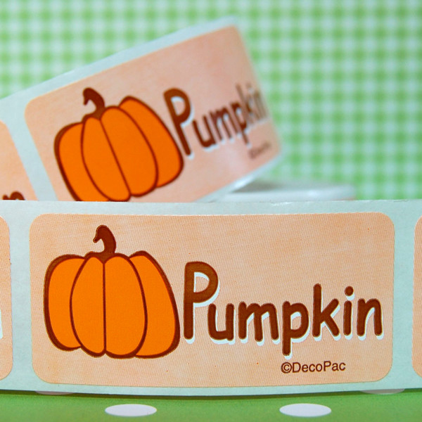 Pumpkin Bakery Labels contemporary kitchen products
