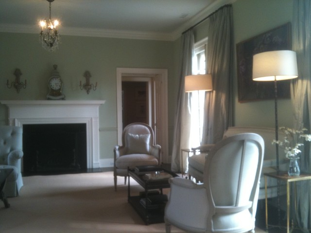 Green Hill ideas traditional-living-room
