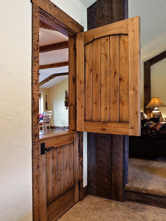 Rustic Dutch Door -