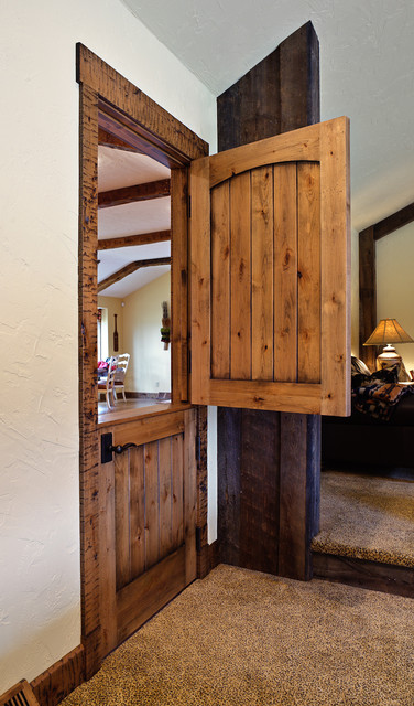 Rustic Dutch Door interior-doors