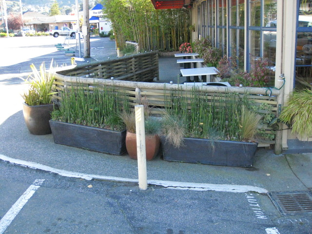 outdoor restaurant seating area asian patio san francisco by