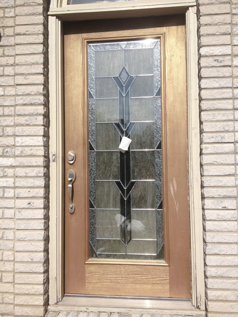 Holmdel New Front Door And Decorative Interior Trim Design And Installation