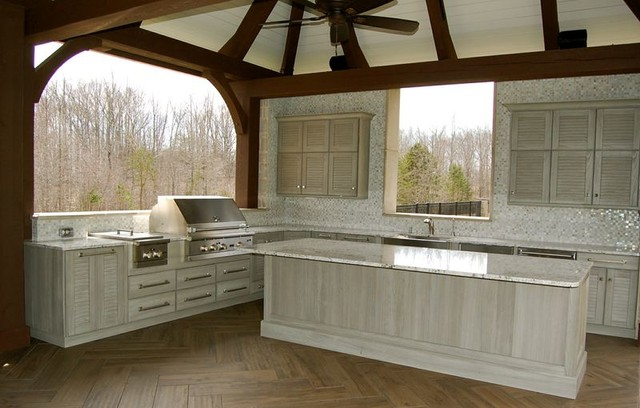 Outdoor Kitchen Cabinetry You Wont Believe! contemporary-patio