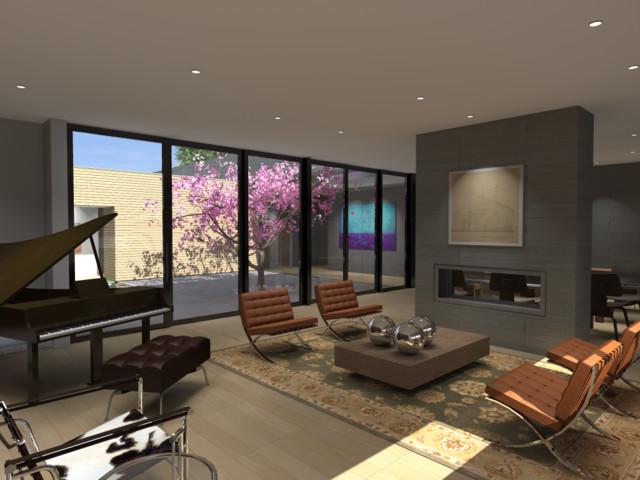 Music room dining - Home design houzz ...