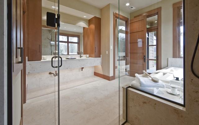 Northwest Spa Bathroom contemporary-bathroom
