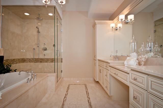 Cream Glaze Bathroom Cabinets