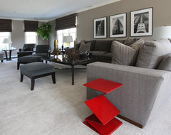 Tailored Sophistication contemporary living room