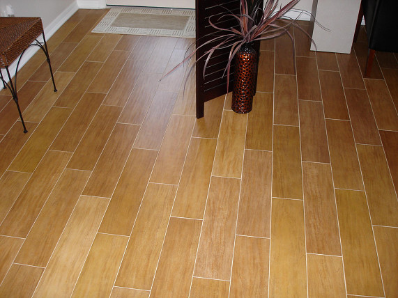 Porcelain Plank Wood Look Tile Installations Tampa Florida Modern Tampa By Ceramictec