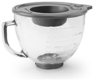 KitchenAid 5-Quart Glass Bowl - Contemporary - Small Kitchen Appliances - by MetroKitchen