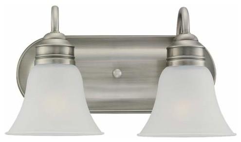 Superb Brushed Nickel Light Fixtures U2013 Your Ideal Bathroom Lighting Option