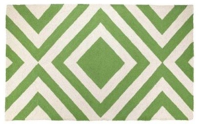 Merced Hook Rug- Green - Clayton Gray Home artwork