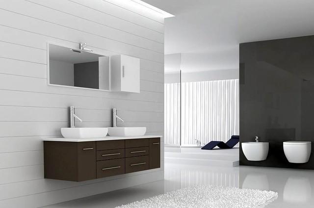 """Milano Modern Bathroom Vanity Set 59"""" modern-bathroom-vanities-and-sink-consoles"""