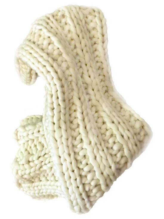 ColorwaysGallery - Chunky Knit Throw - SMOOSH™ Blanket.... a special super chunky knit....luscious super soft, lofty clouds of pure Merino wool.
