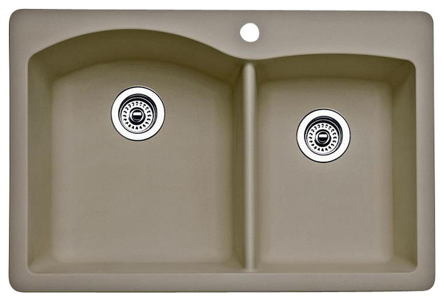 Blanco Diamond U 1 3 4 : Blanco Diamond 1-3/4 Bowl - Contemporary - Kitchen Sinks - by PoshHaus