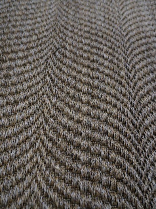 """Natural Fiber Rugs & Carpets - This """"wave"""" sisal is offered for wall to wall installation, as area rugs of any size up to 13' wide and runners.  Choose from a variety of edge bindings including serging, wide cotton, linen, leather, tapestry fabric, Sunbrella and more.  Purchase at Hemphill's Rugs & Carpets Orange County, CA"""
