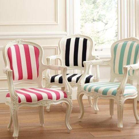 Stripe Ooh La La Armchair modern-chairs