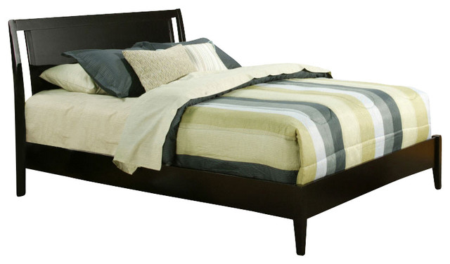 Vista Full Low Footboard Sleigh Bed contemporary-bedroom-furniture-sets