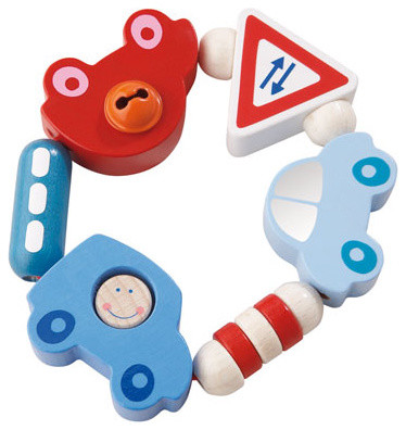 Haba Toot-Toot Clutching Toy contemporary-baby-and-toddler-toys