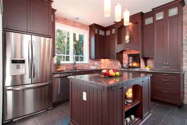 MODERN TRANSITIONAL KITCHEN eclectic-kitchen