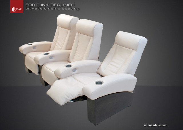 FURTUNY Modern Design Classic for Private Cinema. modern-accent-chairs