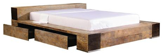 Edge Bed eclectic beds