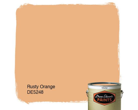 Dunn-Edwards Paints Rusty Orange DE5248 -
