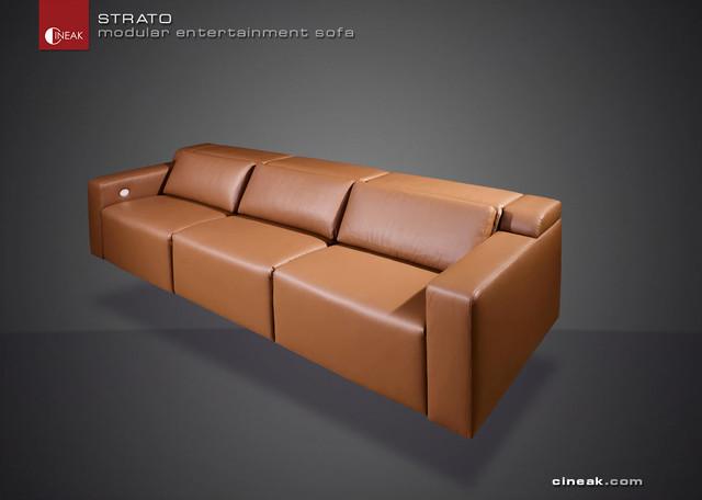 CINEAK Strato Modular Entertainment Sofa modern-sectional-sofas