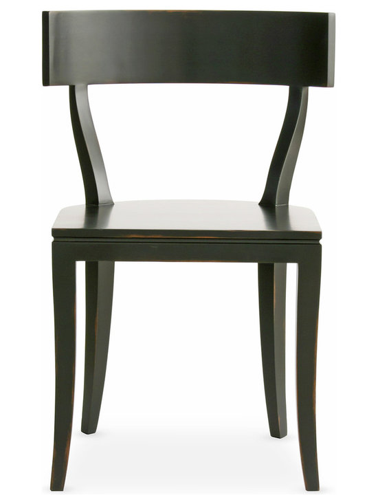 The Thomas Chair - The Thomas Chair from Redford House.  It is all about an elegant line.  Very clean and modern with a traditional touch.