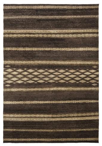Nairobi Stripe – Safari Brown Rug contemporary-rugs