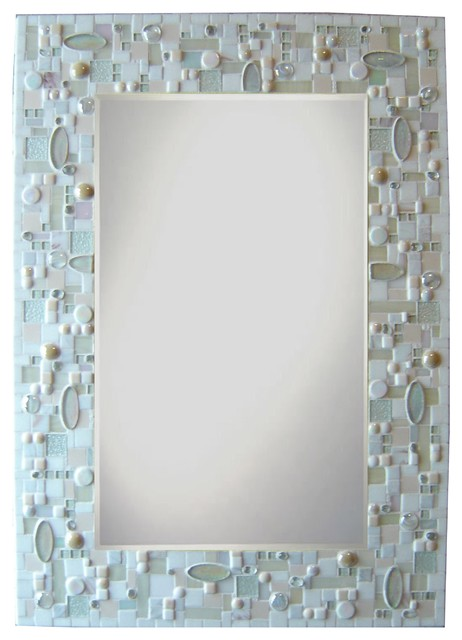 other mosaic mirrors contemporary bathroom mirrors