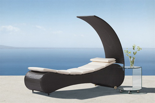 Zuo Palm Chaise contemporary