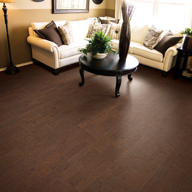 Cork floor contemporary-hardwood-flooring
