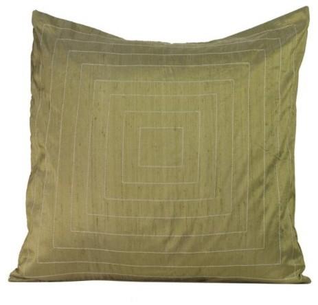 Jiti Pyramide Taupe Pillow contemporary-decorative-pillows