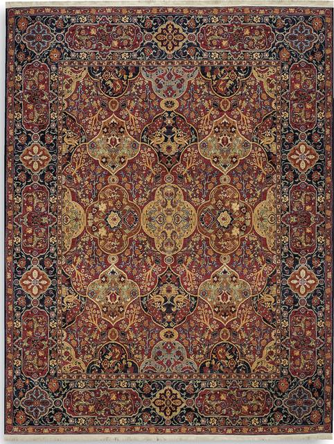 "Karastan English Manor 2120-00504 5'7"" x 7'11"" Hampton Court Rug contemporary-rugs"
