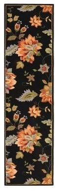 Safavieh Chelsea HK306B Area Rug - Black modern-rugs