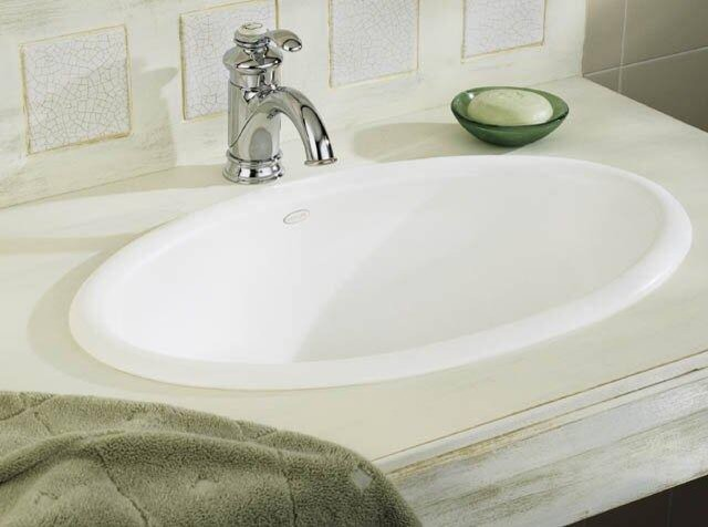 kohler k 2220 0 white vintage vintage 24 quot drop in bathroom