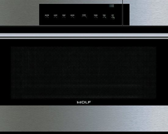 "Wolf 30"" E Series Transitional Convection Steam Oven Stainless Steel 