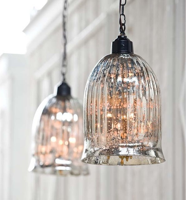 Regina Andrew Hanging Antique Glass Pendant traditional-pendant-lighting