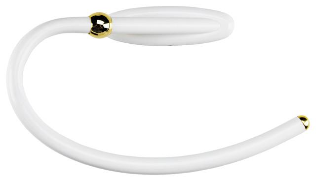 Chloe white gold bathroom accessories set of 6 for White and gold bathroom accessories