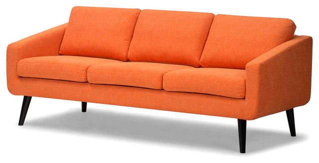 Angled Retro Sofa modern-sofas