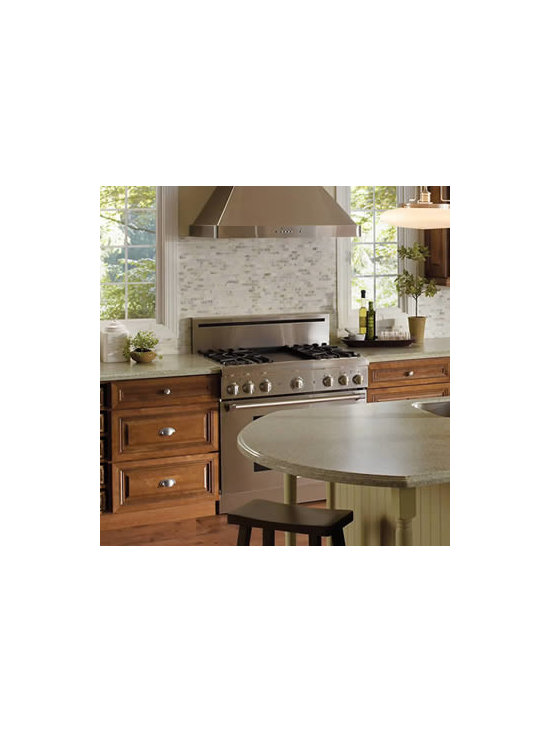 Cooking Zone - The cooking zone includes the range or cook-top, your cutting, chopping and mixing area, and the places you store spices and supplies. The more storage and counter space you have there, the better.