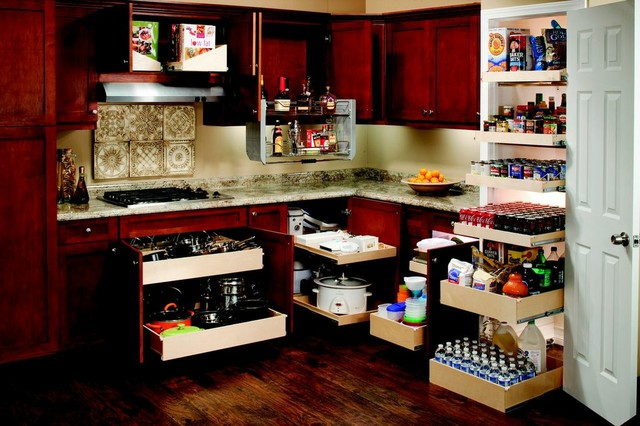 ShelfGenie Pull Out Shelves for the Whole Kitchen cabinet-and-drawer-organizers