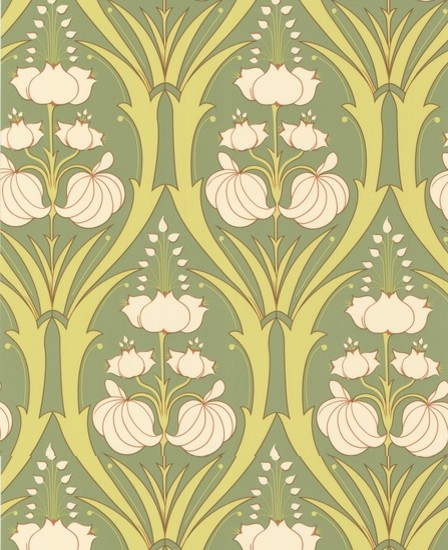 Amy Butler Passion Lily eclectic wallpaper
