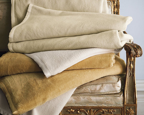 Frontgate - Silk Plush Blanket - Made from reclaimed silk remnants. Naturally hypoallergenic. Finished on all four sides with tonal-silk sateen binding. Dry clean only. Imported. Our Silk Plush Blanket will feel like an indulgence, yet it's practical for everyday use and an excellent value. Pulled silk is lighter in weight than other silk fibers and lofty like wool, resulting in a blanket that is light and supple. The silk fibers equalize temperature, helping you stay comfortable all night.  .  .  . . .